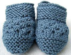 Miau Atelier: Workshop: Sapatinho super fácil em tricot