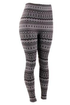 74905f0c003e3 ShoSho Women`s Plus Size Fleece Lined... (bestseller) Aztec Print