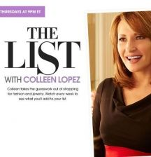 Take the guess work out of fashion! Tonight I'll be on The List with @Colleen Lopez on @HSN at 9PM ET! You're gonna want to join!