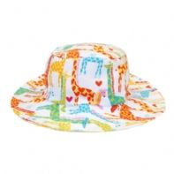 Myang Love Giraffes Sunhat - This lovely unisex sunhat, feels like it is perfect for a day at the beach!