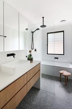 The Block Ensuite Reveals Say No To Terrazzo Home