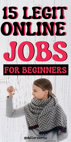 Beginner friendly online jobs people are doing to make money online. These are scam free jobs you can do to make money from home with no prior experience. Make Money Online Now, Ways To Earn Money, Make Money From Home, Way To Make Money, Work Online Jobs, Legit Online Jobs, Work From Home Jobs, Jobs For Women, Job Work