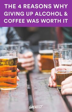 Here's what I've learned after 15 months. #alcohol https://greatist.com/connect/giving-up-alcohol-coffee-worth-it