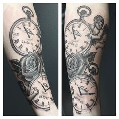 pocket watch children tattoo - Google Search