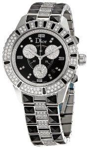 Only 1 left #Christian Dior Women's CD11431DM001 Christal Stainless-Steel Bracelet Watch