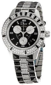 Only 1 left #Christian Dior Women's CD11431DM001 Christal Stainless-Steel Bracelet Watch