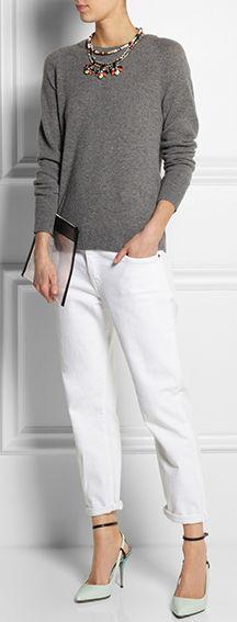 #cashmere #sweater #jcrew  streetstyle
