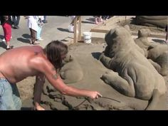 World Championship of Sand Sculpting in HD - YouTube