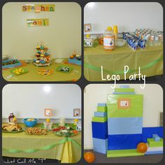"Just Call Me ""T"": Yet Another Lego Party"