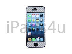 iPhone 5 Carbon Skin Silber iPad Zubehör, iPhone Zubehör und iPod Zubehör || Gut und Billig