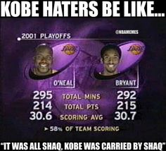 RT @NBAMemes: Kobe vs. Shaq debate. - http://nbafunnymeme.com/nba-funny-memes/rt-nbamemes-kobe-vs-shaq-debate