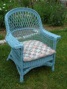 how to repair vintage lloyd loom furniture painting pinterest