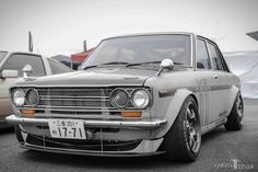 Morishita's Datsun 510 Datsun 1600, Japanese Cars, Nissan Skyline, Volkswagen, Tokyo, Classic Cars, Vehicles, Wheels, Comic