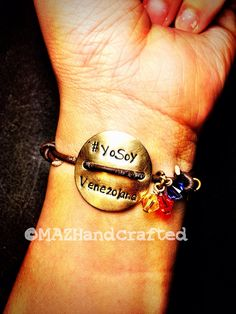 Venezuela Bracelet for Women Yo Soy Venezolana Venezuelan Patriotic on Etsy, $25.00