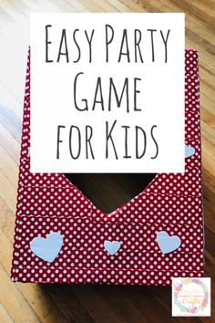 Keep the kids busy at an indoor or outdoor party with this fun and easy party game. All you need is tape, scissors and a cardboard box to keep the kids happy. This is great for birthdays or school parites- a fun activity for everyone. #KIdsParty #birthdaygame #PartyIdeas #Classroomideas #Classroomparties #KidsPartyGames #ClassroomGames #Birthday #KidsBirthday