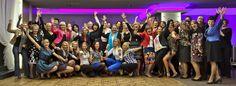 Happy business women in Suwałki, Poland