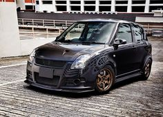 Don't let this Swift Sport's relatively sedate appearance fool you – it's got a mod list longer than your arm Suzuki Swift Tuning, Suzuki Swift Sport, Suzuki Cars, Car Mods, Kit Cars, Modified Cars, Custom Cars, Dream Cars, Honda