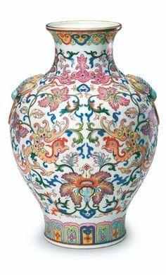 Chinese Antique Cloisonne painted longevity bowl Qianlong Year