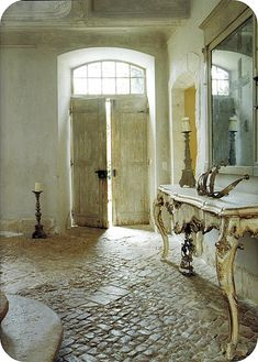~linen & lavender: Chateau de Gignac - french farmhouse - provence - stone - old - weathered -rustic