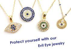 Evil Eye Jewelry - online now! LolasBoutiqueNYC.com