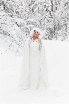 Downtown Missoula Winter Wedding via Rocky Mountain Bride Winter Mountain Wedding, Snowy Wedding, Wedding Bride, Our Wedding, Wedding Dresses, Wedding Stuff, Winter Wedding Ceremonies, Wedding Ceremony, Winter Weddings