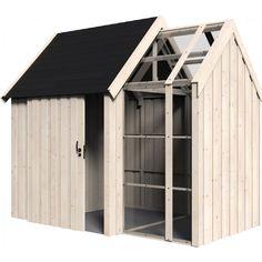 Un abri de jardin, pièce en plus ou rangement   Cabane   Pinterest ...