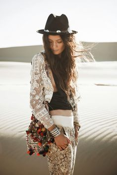 mix prints + textures #freespirit
