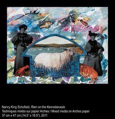 Nancy King Schofield - Ram on the Kennebecasis