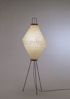 Akari Light Sculpture, FIRST Series, Model No. S7187, Ozeki Lantern Co. Isamu Noguchi.