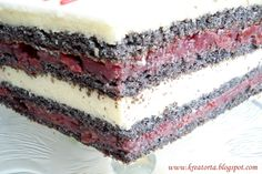 Croatian Recipes, Hungarian Recipes, Hungarian Cake, Sweet Tooth, Cheesecake, Deserts, Food And Drink, Cooking Recipes, Yummy Food