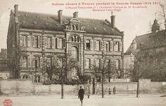 l'ancienne clinique du Docteur Massoulard, boulevard Victor Hugo, accueille l'hôpital complémentaire n°1 (108 lits).