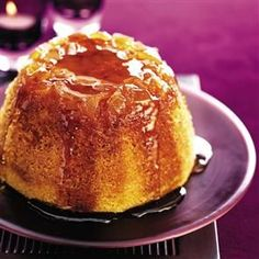 This British recipe for Ginger Syrup steamed pudding is so easy to make, and tastes delicious. Pudding Desserts, Pudding Recipes, Dessert Recipes, Dessert Dishes, Syrup Recipes, Steamed Pudding Recipe, Bread And Butter Pudding, Jell O, Mole