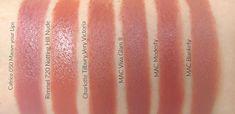 Charlotte Tilbury Matte Revolution Lipstick Very Victoria Dupes - Mac Modesty, Blankety, Viva Glam II Lipstick Dupes, Best Lipsticks, Pink Lipsticks, Makeup Dupes, Makeup Products, Beauty Products, Lipstick Kiss, Beauty Dupes, Makeup Lips