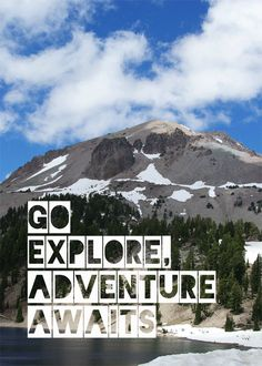 Go Explore, Adventure Awaits Free Printable - Oleander + Palm