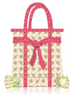 Free Verna Tote Pattern and Sewing Tutorial #sewing