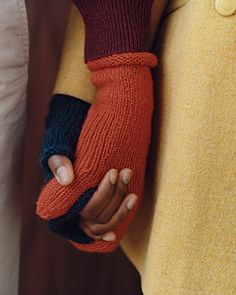 Traditional Mittens