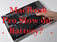 Mach Machines MacBook Pro Running Slow On Battery - Fix It! » Mach Machines