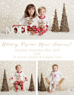 Bay Area Christmas Mini Sessions
