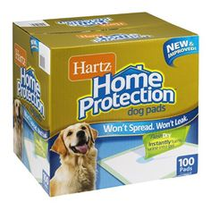 Hartz Home Protection Dog Pads 100 CT Pack of 2 * Details can be found by clicking on the image.(This is an Amazon affiliate link and I receive a commission for the sales)