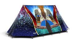Basso x Fieldcandy super tent #digital #print