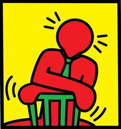 keith herring images | Portfolio > by 'famous artists' > By Keith Haring