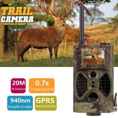 73.27$  Buy here - http://ali1ub.shopchina.info/go.php?t=32803680233 - HC300M 940NM Infrared Night Vision Hunting Camera 12M Digital Trail Camera Support Remote Control 2G MMS GPRS GSM for Hunting 73.27$ #aliexpresschina