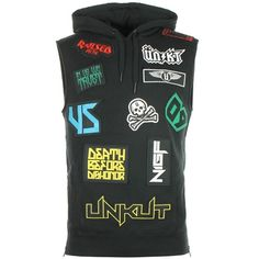 Sweat Capuche Sans Manches Unkut Heavy Noir - LaBoutiqueOfficielle.com