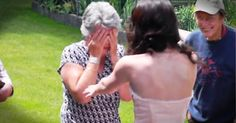 Her Grandbaby Surprised This Grandma To Tears--SO Sweet!