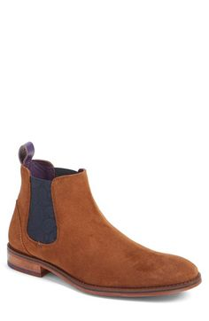 Free shipping and returns on Ted Baker London 'Camroon 4' Chelsea Boot (Men) at Nordstrom.com. Paisley-patterned elastic-gore side panels intensify the suave vintage style of a definitive Chelsea boot completed with a subtly textured heel panel.