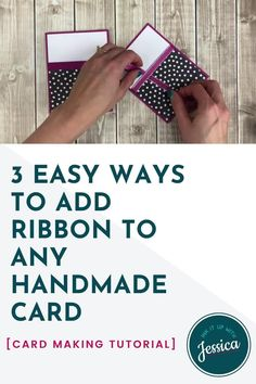 Card Making Ideas For Beginners, Card Making Tips, Card Making Tutorials, Card Making Techniques, Making Cards, Card Making Inspiration, Video Tutorials, Hand Made Greeting Cards, Greeting Cards Handmade