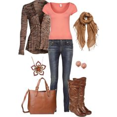 """Win win!!! Brown and peach, I know I pinned something in the """"pinkish"""" color scheme....not a shocker lol:)"""
