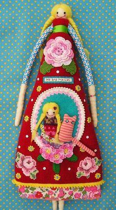 Unusual art doll. Fun though.
