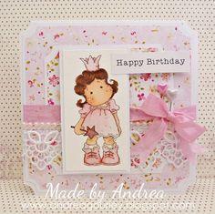 Pretty Birthday Card