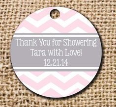 Set of 40 Favor Tags